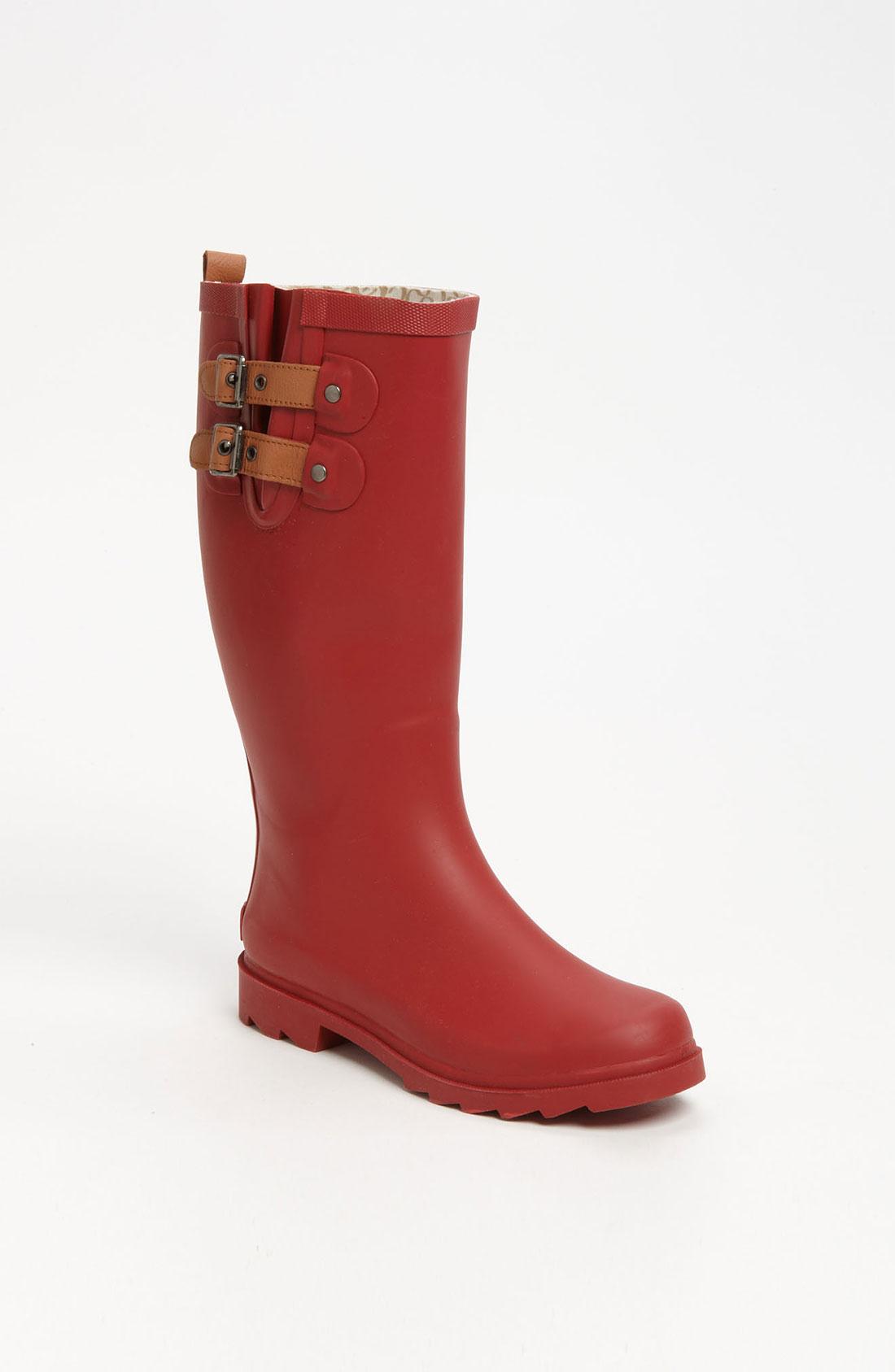 Luxury Kamik Kathy Women Fabric Pink Rain Boot Boots