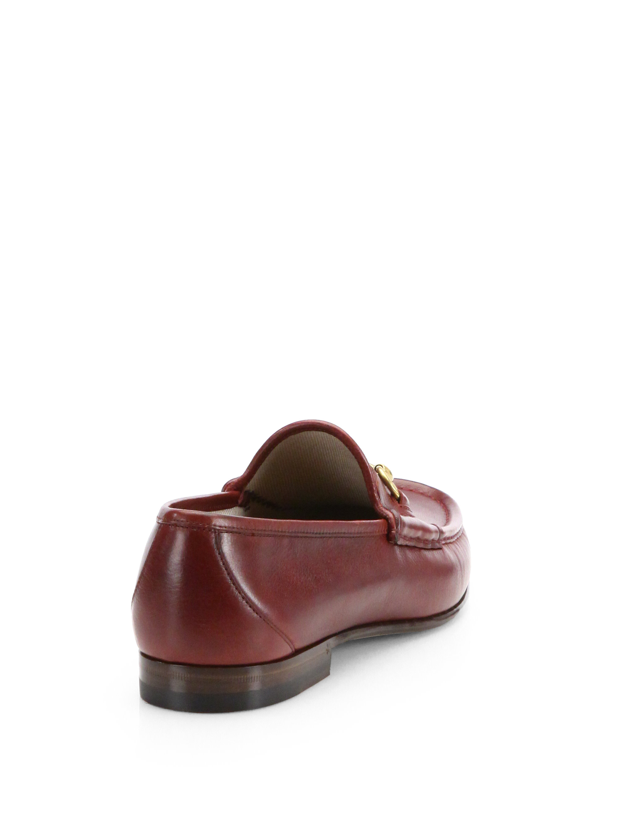 22527562cbb Lyst - Gucci Roos 1953 Horsebit Loafers in Brown for Men