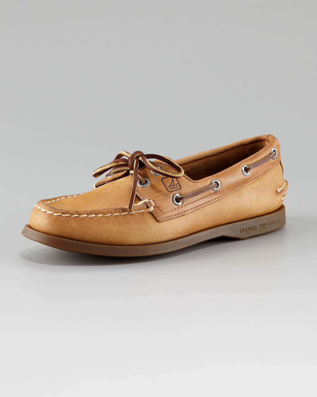 Lyst - Sperry Top-Sider Authentic Nubuck Boat Shoe in Brown ea198caef