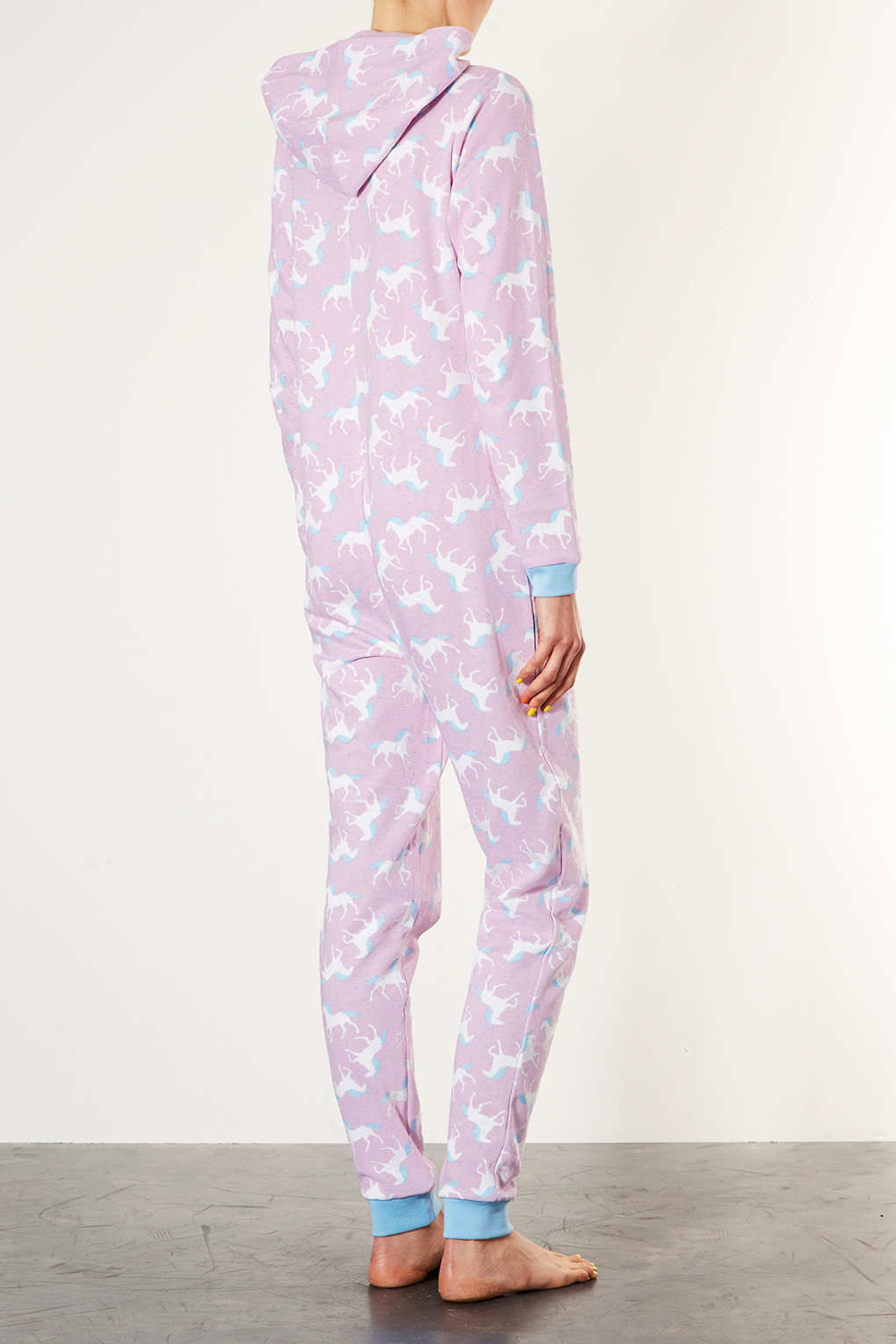 Pink Unicorn Onesie. Onesies Online is proud to offer you this pink unicorn onesie which is made of highest quality fleece. It is available in four sizes which is S (Small), M (Medium), L (Large) and XL (Extra Large). We offer various types of animal onesies Australia and global consumers will surely love.