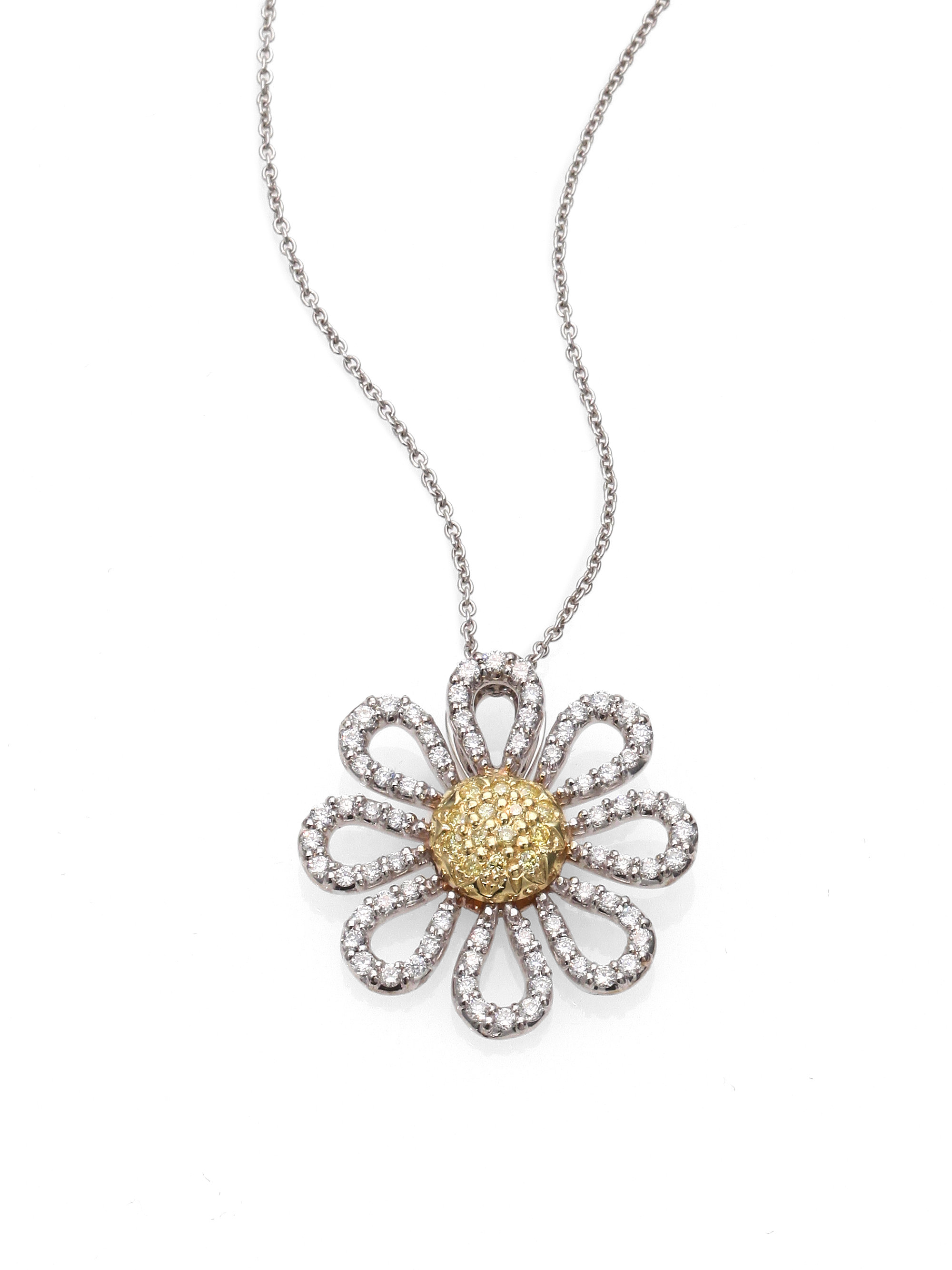 necklace daisy new of picture pendant