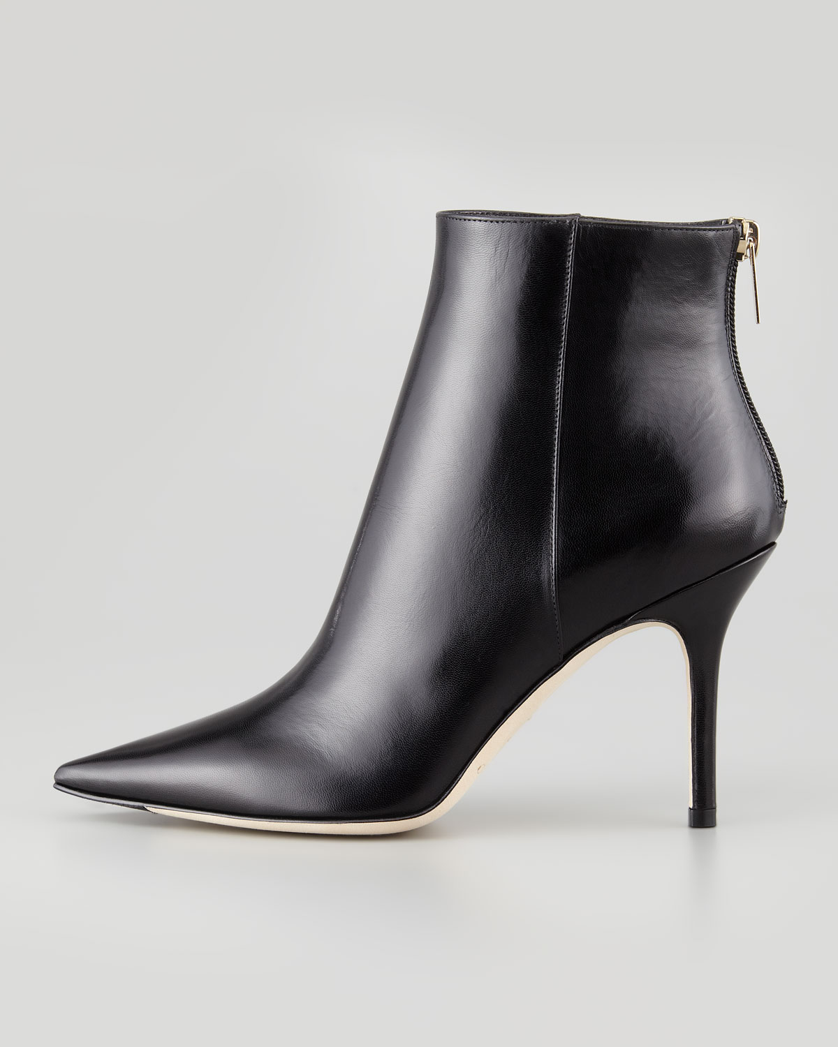 dbbb3ad30f5 ... promo code for lyst jimmy choo amore pointed toe ankle boot in black  c4358 995ab