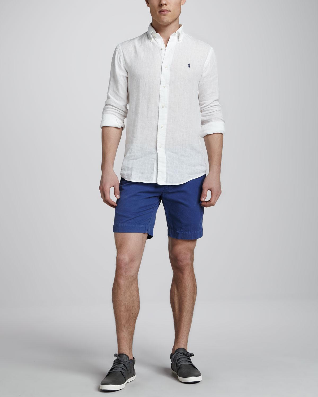 9fde93f46 Polo Ralph Lauren Dip Dyed Linen Shirt – EDGE Engineering and ...