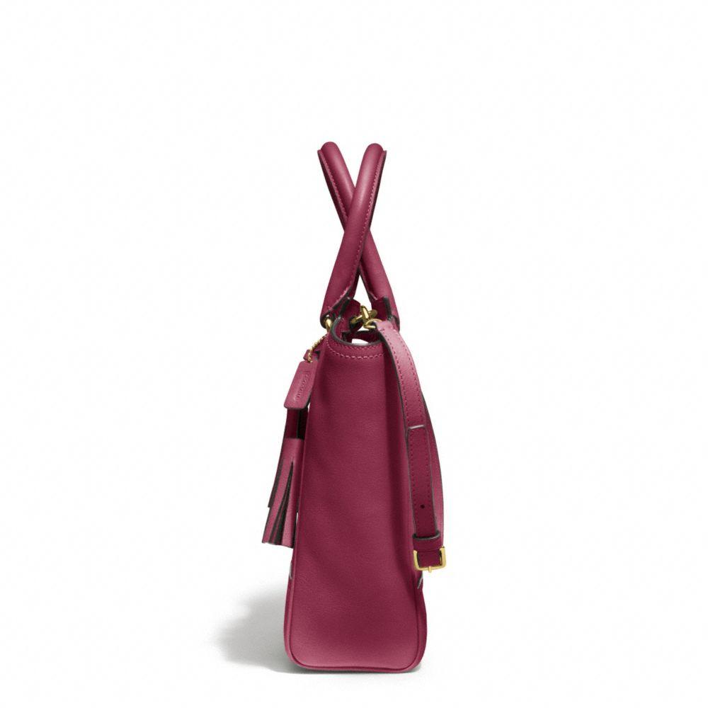 Coach mini tanner color block dress