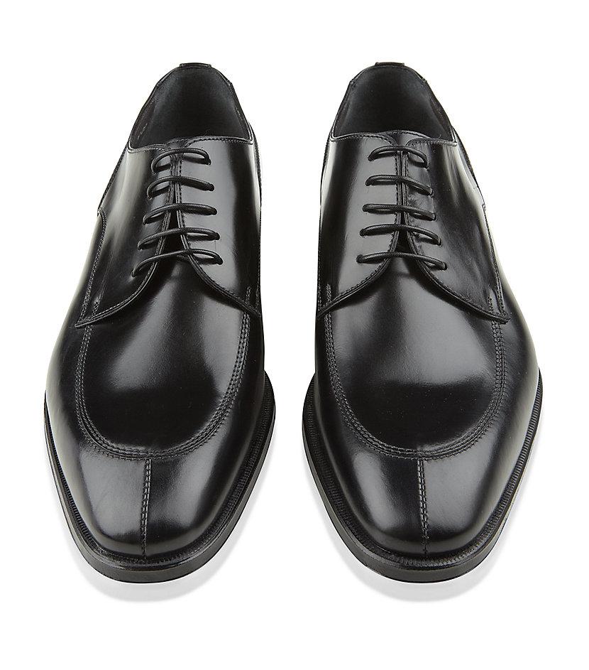 Black Split Toe Dress Shoe