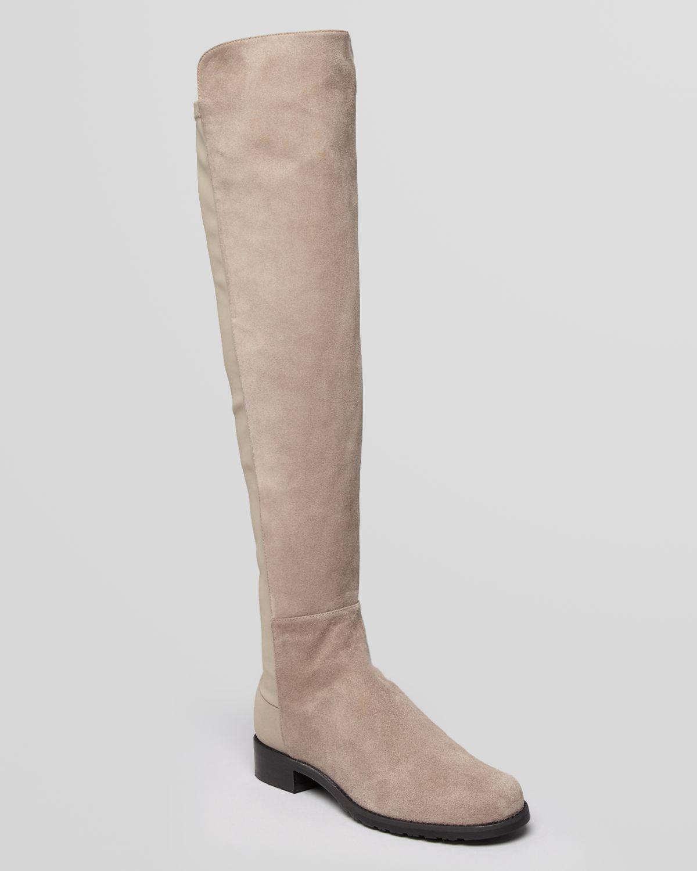 stuart weitzman the knee boots 5050 stretch suede