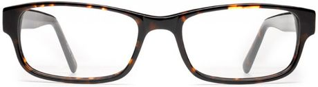 Warby Parker Fitz in Black (Whiskey Tortoise)