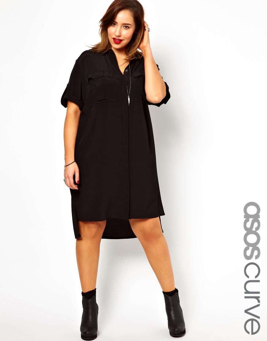 340b9bda9663 Black Plus Size Shirt Dress - Photo Dress Wallpaper HD AOrg