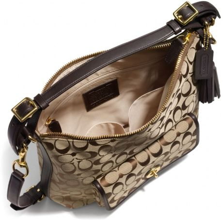 Legacy Courtenay Hobo Shoulder Bag In Signature Fabric 22