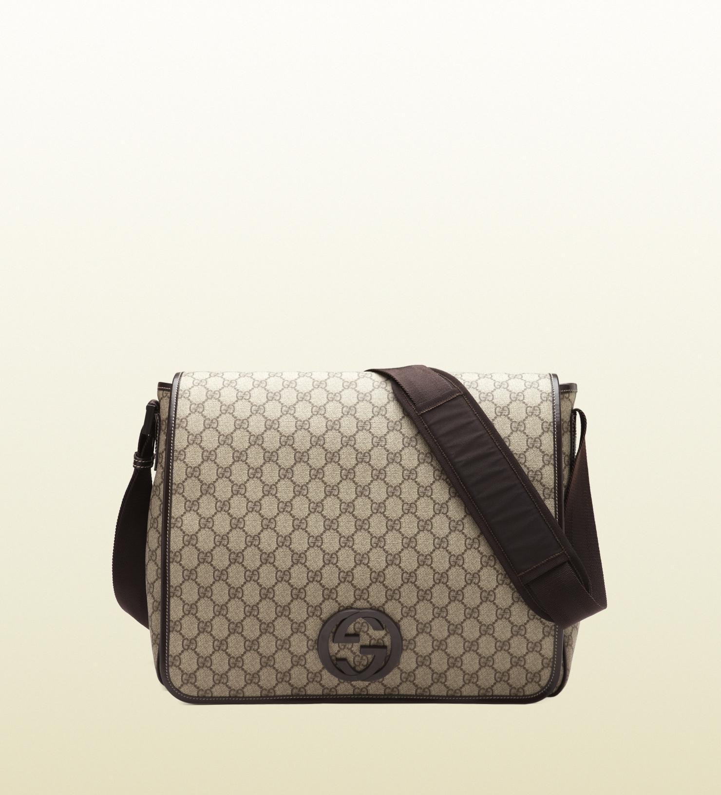 c5d60c571b0757 Gucci Gg Supreme Messenger Bag Mens | Stanford Center for ...