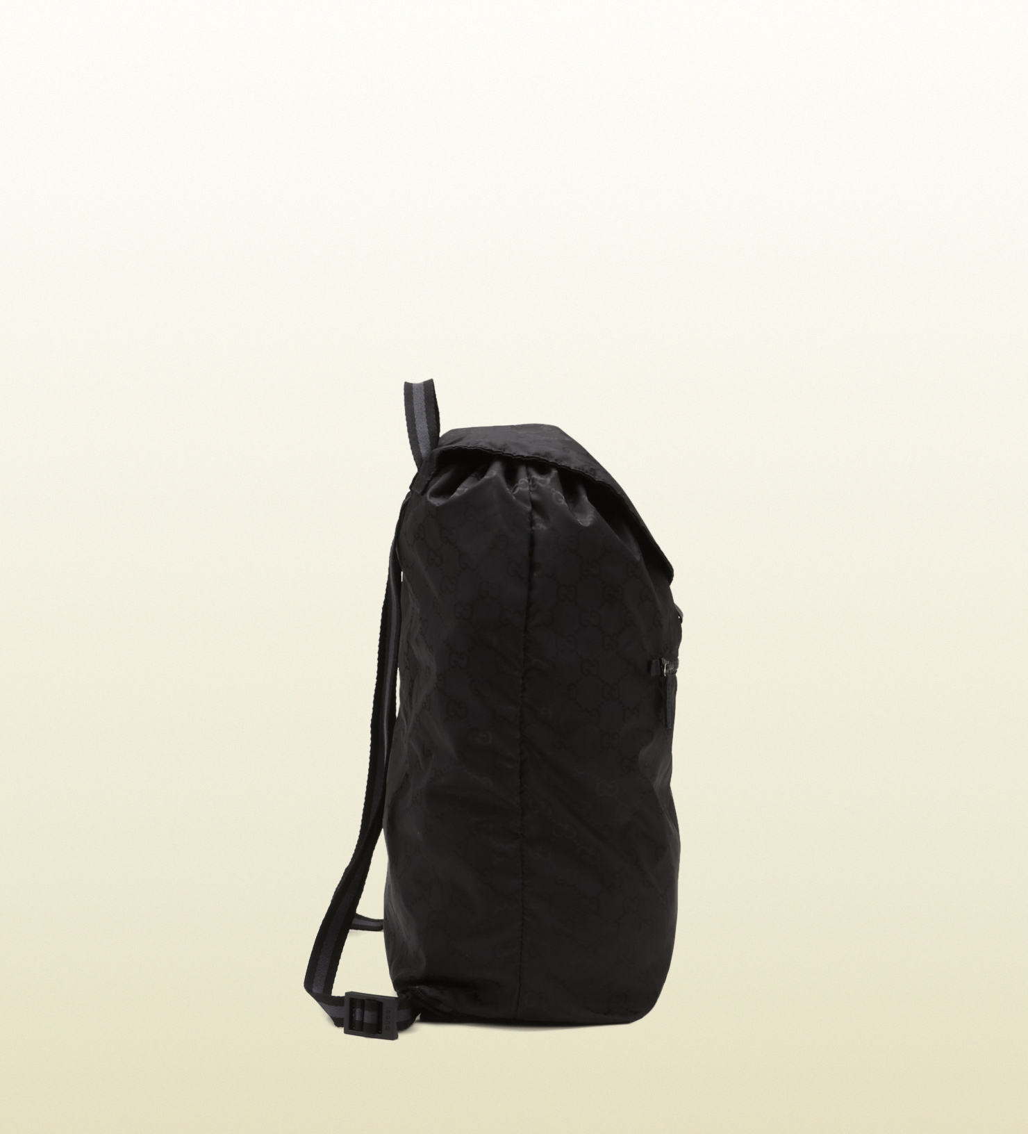 Gucci Black Gg Nylon Backpack From Viaggio Collection in Black for ... 022370ce9572a