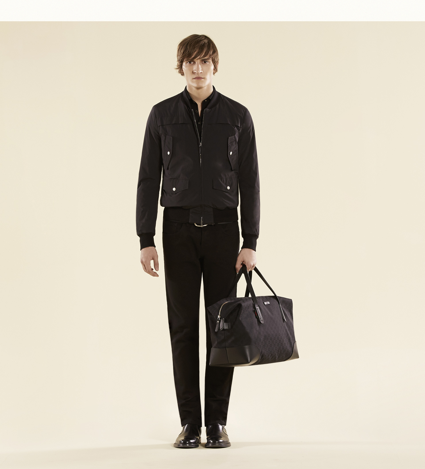 70bd0696a27d Gucci Original Gg Canvas Carry-on Duffel Bag in Black for Men - Lyst