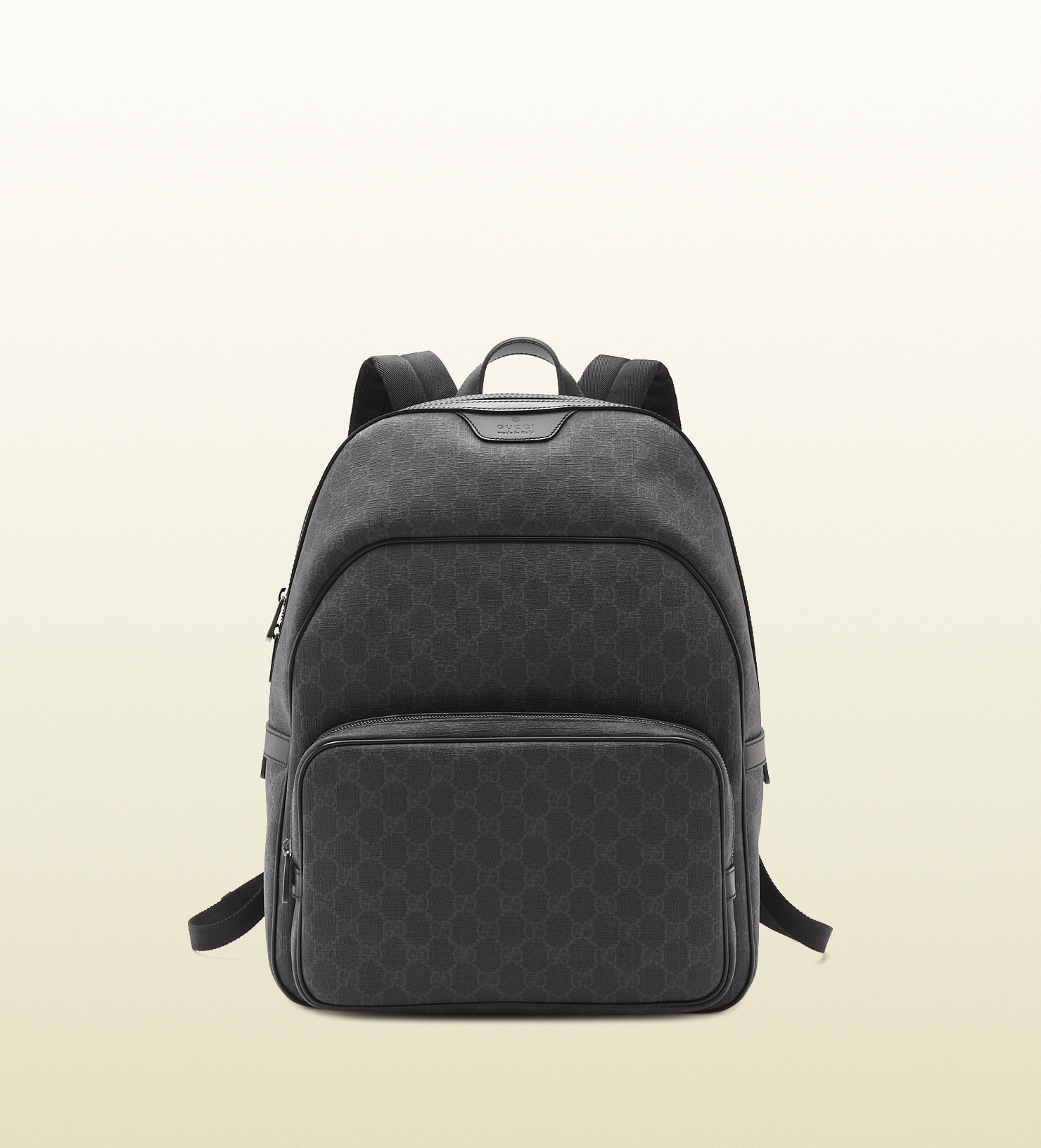 ef6f8f58ba7c Lyst - Gucci Gg Supreme Canvas Backpack in Gray for Men