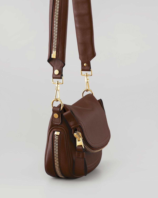 f3e46b94cf Lyst - Tom Ford Jennifer Mini Crossbody Bag in Brown