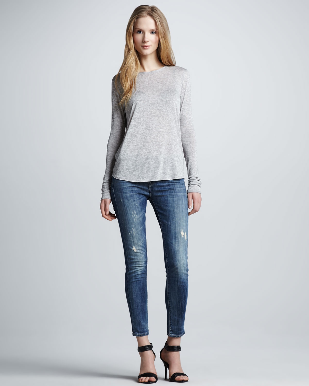 Collection Skinny Distressed Jeans Pictures - Reikian