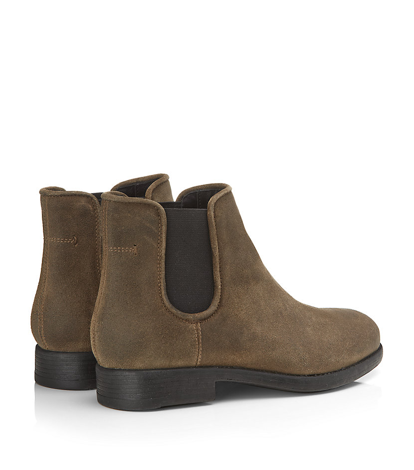 Flat Suede Ankle Boots | FP Boots