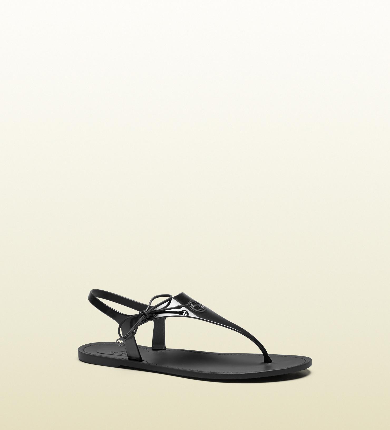 Black gucci sandals - Gallery