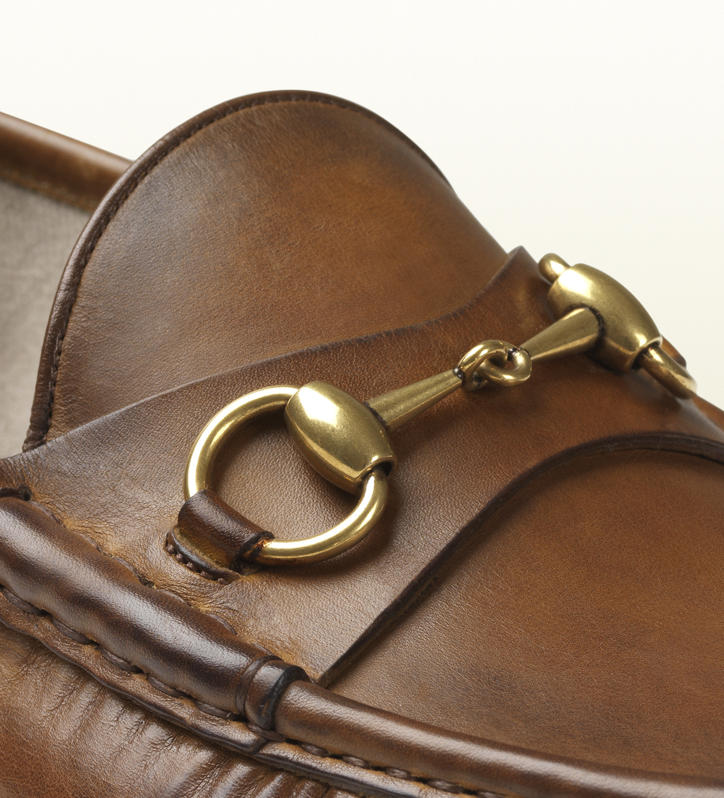 Gucci 1953 Horsebit Loafer In Leather in Brown for Men