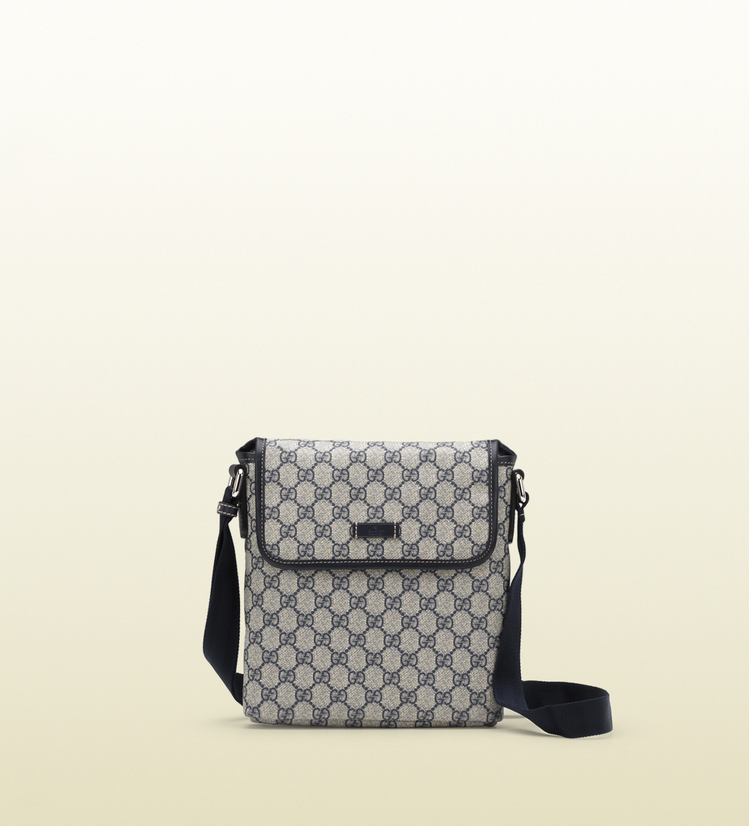9e90908d34d Gucci Small Messenger Bag in Silver for Men (nickel)