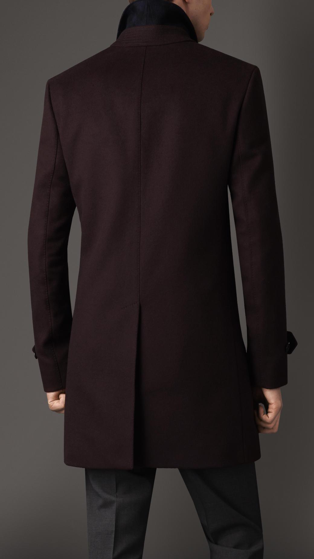 Wool Cashmere Car Coat - Sm Coats