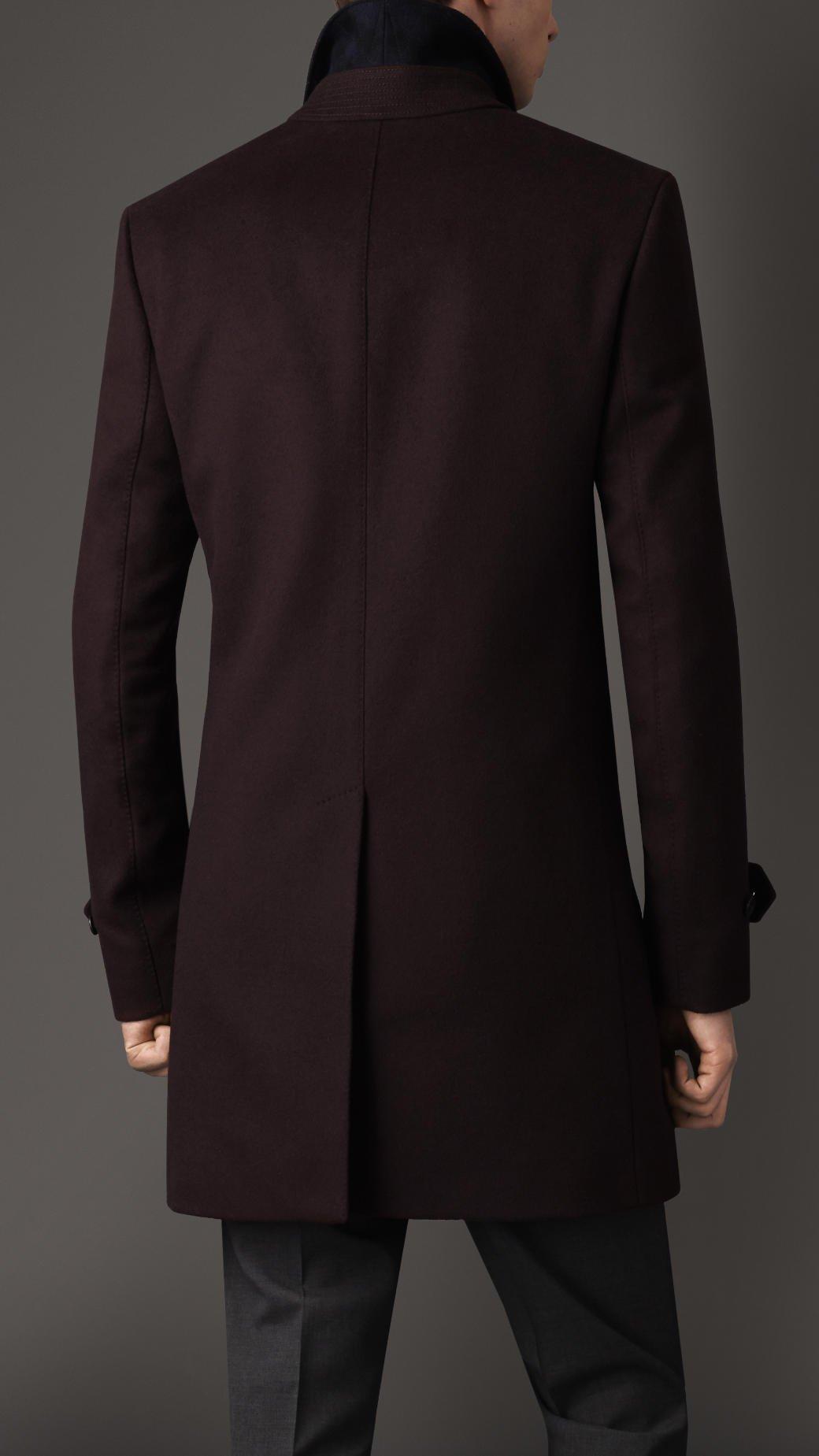 Wool Cashmere Car Coat