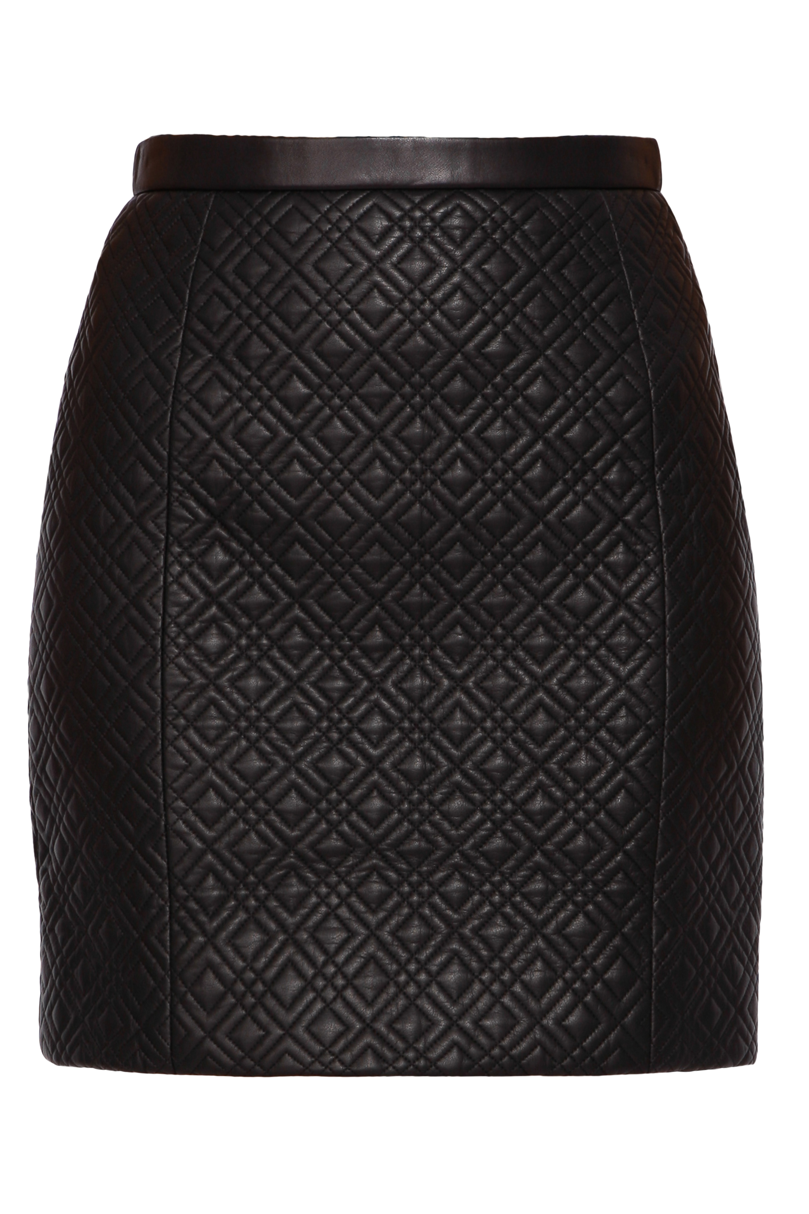 jason wu quilted leather skirt in black lyst