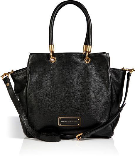 Marc By Marc Jacobs Leather Bentley Bag In Black In Black