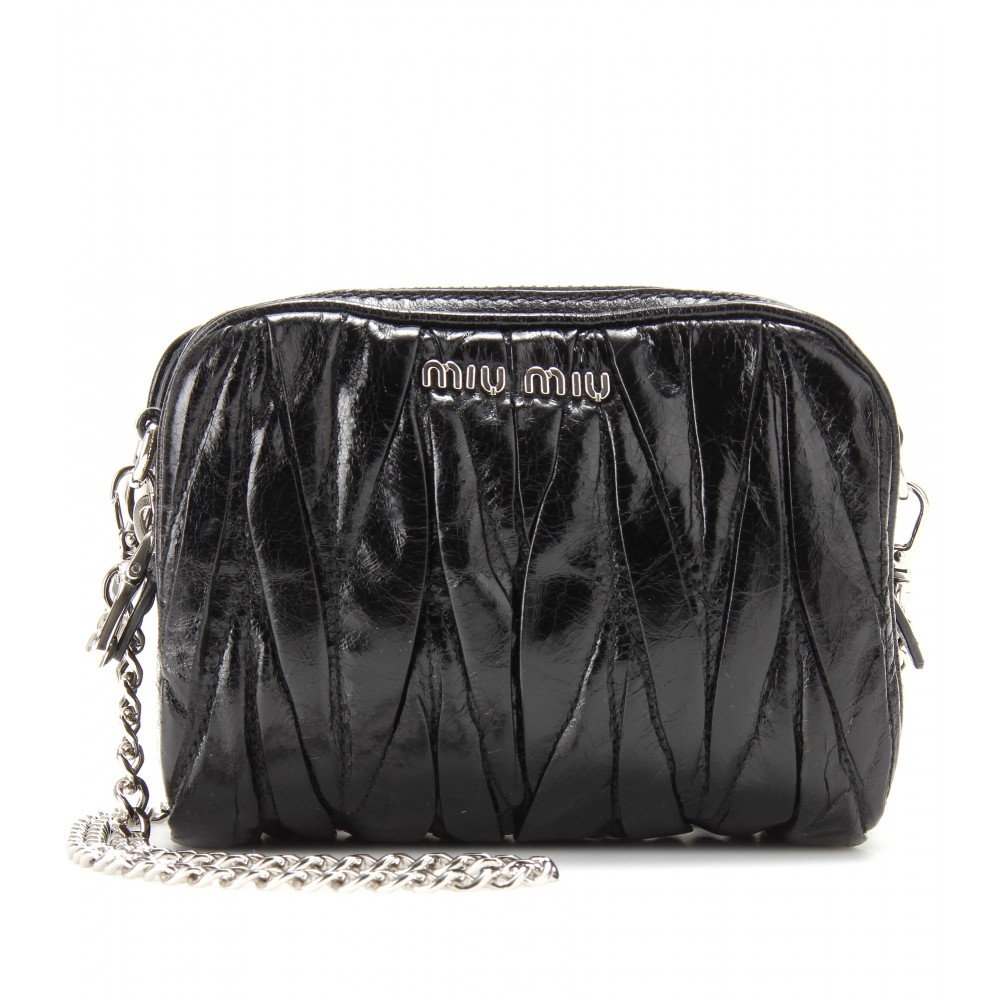 a9b62d639f18 Miumiu Matelasse Leather Mini Bag 5bh539