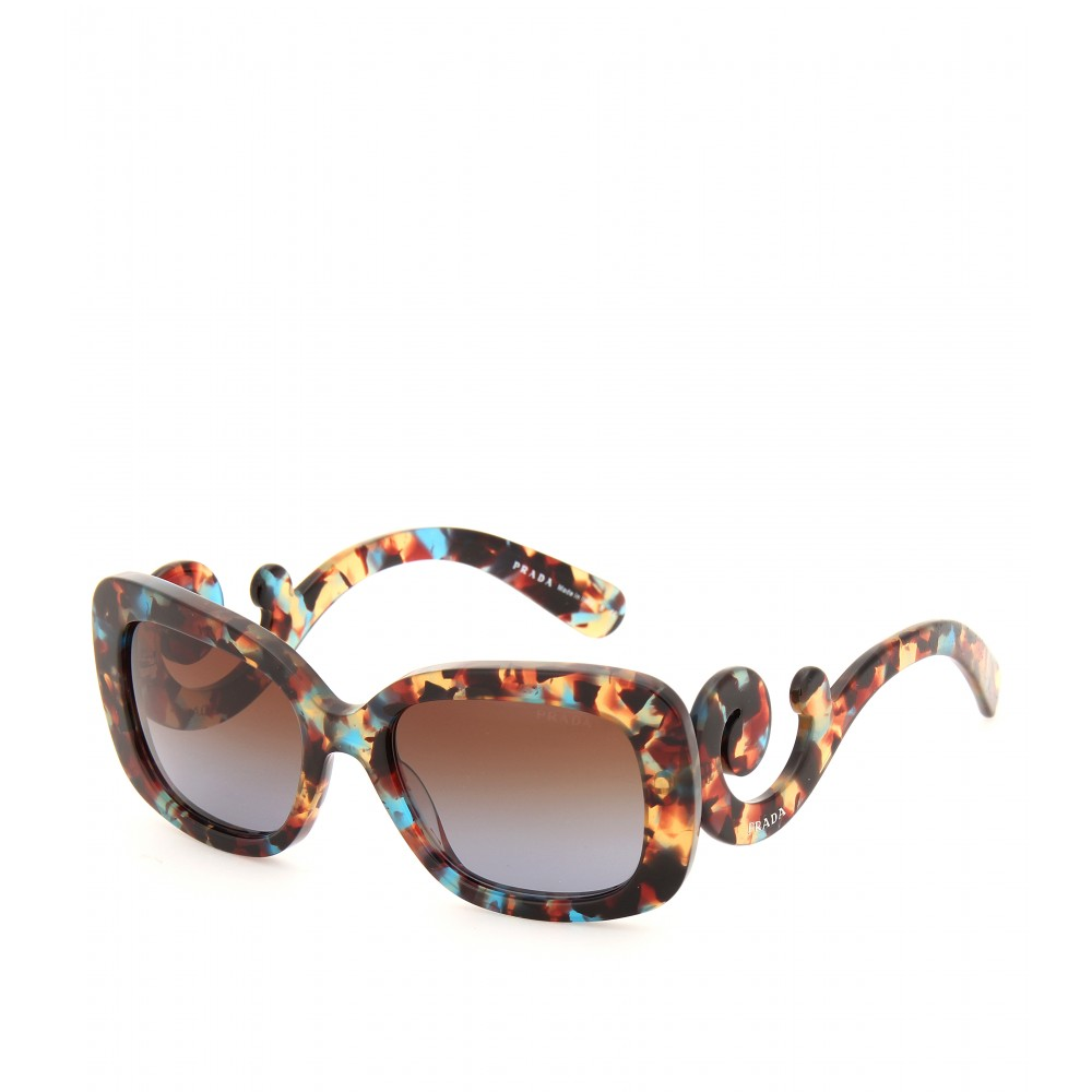 Baroque Sunglasses  prada minimal baroque sunglasses lyst
