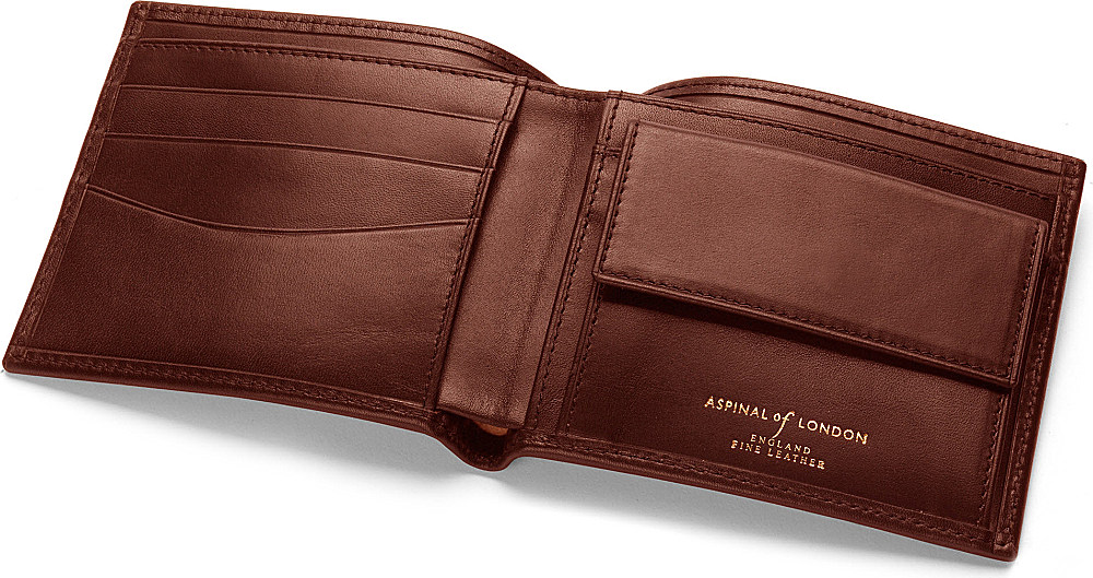 Image result for images of Aspinal Leather Cognac Wallet