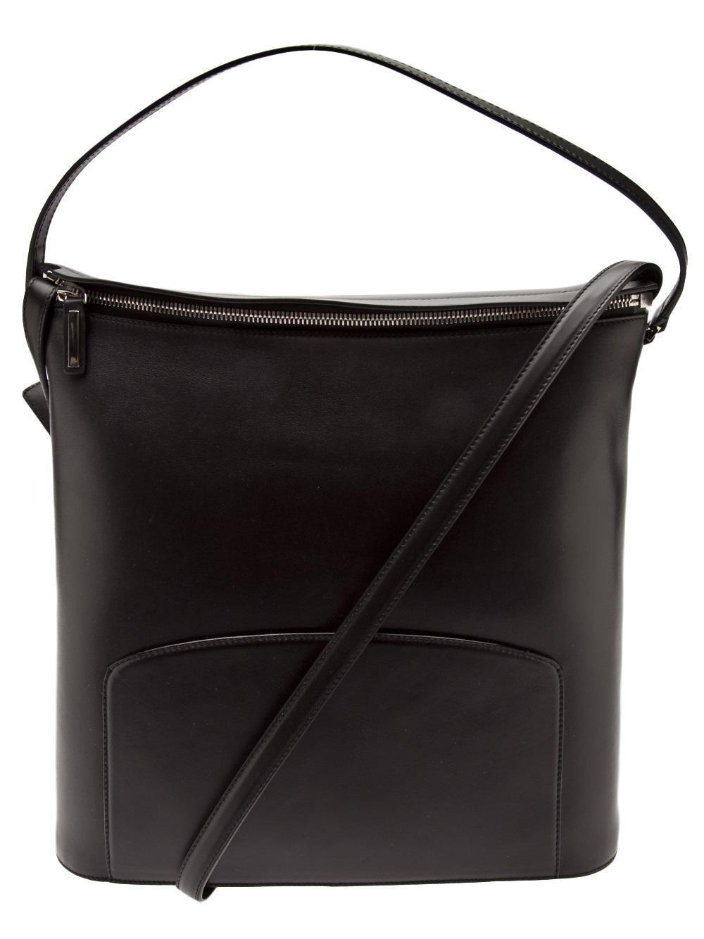 Lyst The Row Crossbody Bag In Black