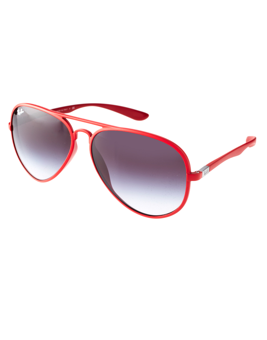 73b30313361 Red Ray Ban Aviators « One More Soul
