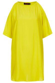 Motel Dress on Topshop Annalise Fiji Dress In Yellow   Lyst