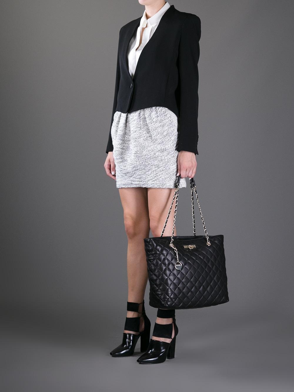 4b809cce0c243d Quilted Black Leather Handbag - Best Handbag In 2018