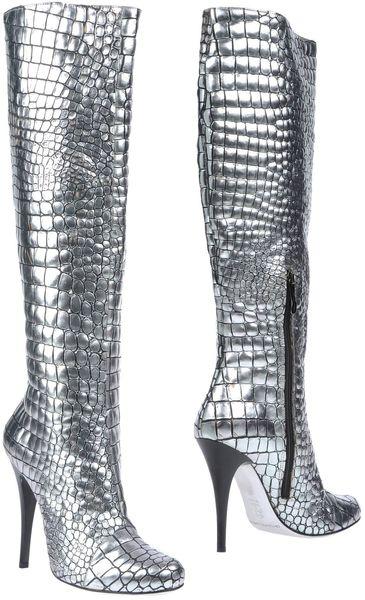 Gianmarco Lorenzi Boots in Silver