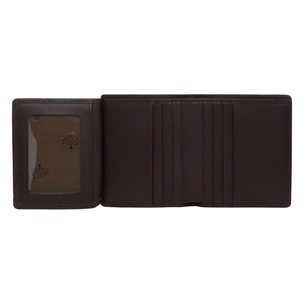 5112533555f6 ... good lyst mulberry mini tri fold wallet in brown for men b2261 8f923