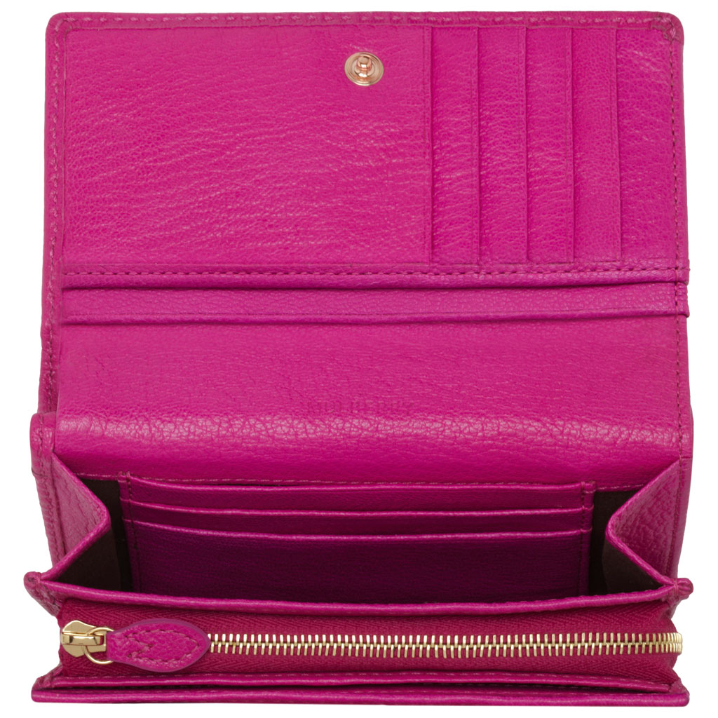 21b05f5c1e netherlands lyst mulberry bow french purse in pink 5fbd8 6b2ae