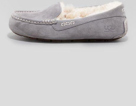 ugg gray slippers
