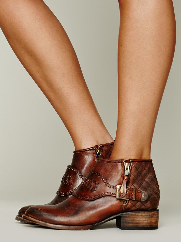 Lyst Freebird By Steven Luxton Ankle Boot In Brown