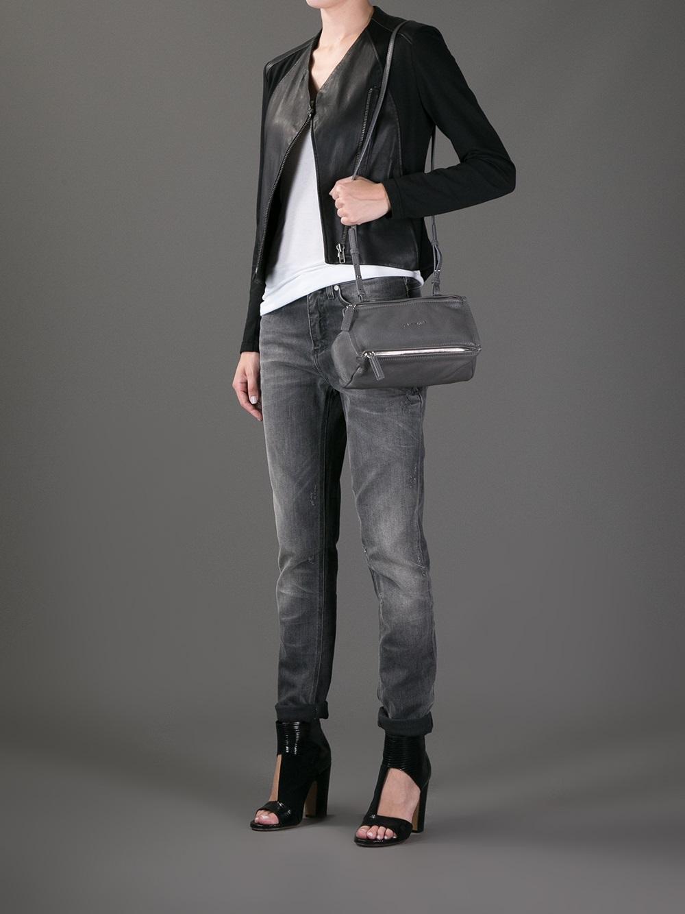 small Pandora tote - Grey Givenchy YSzE7rtjJ