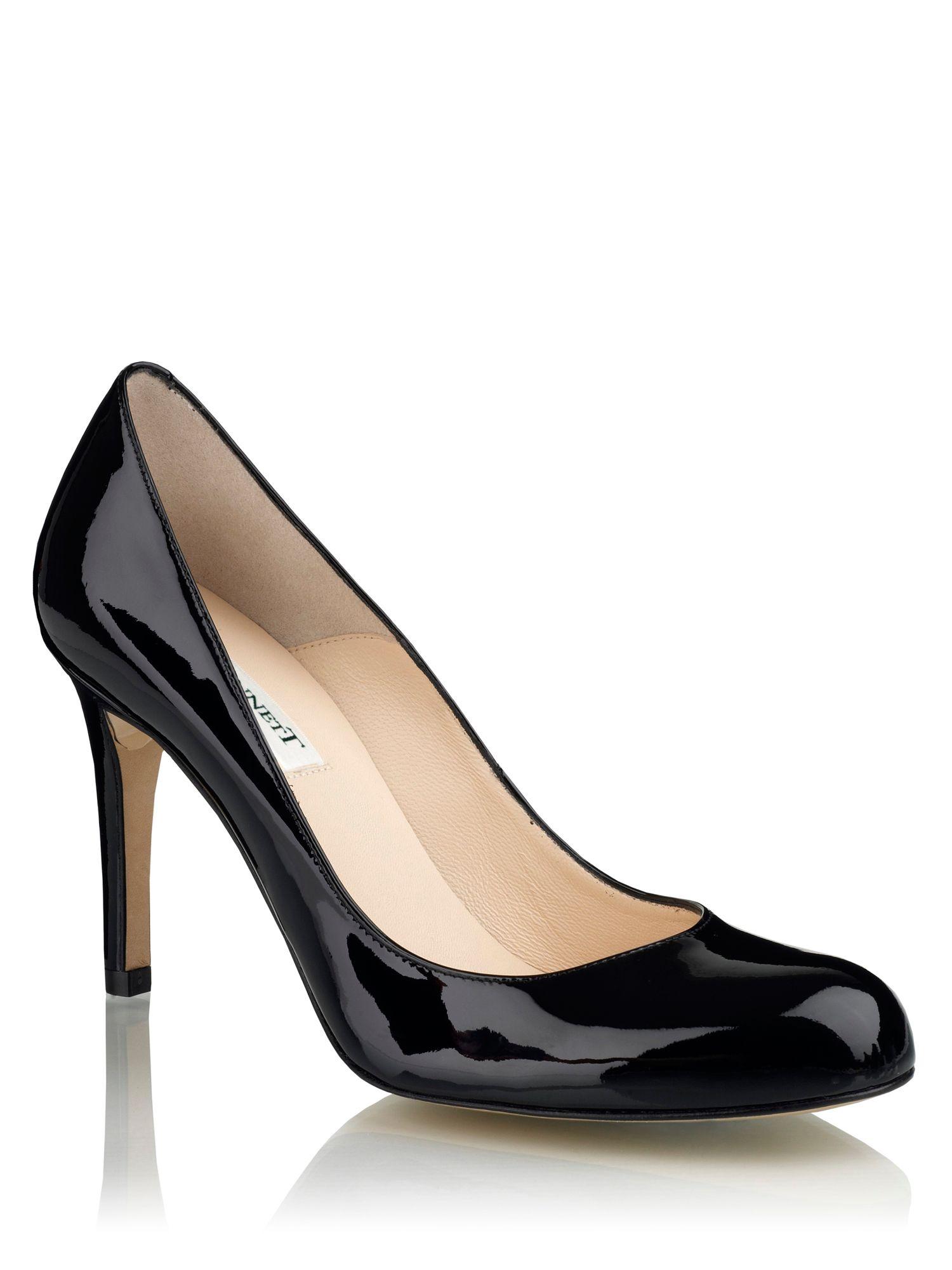 Lk Bennett Black Court Shoes