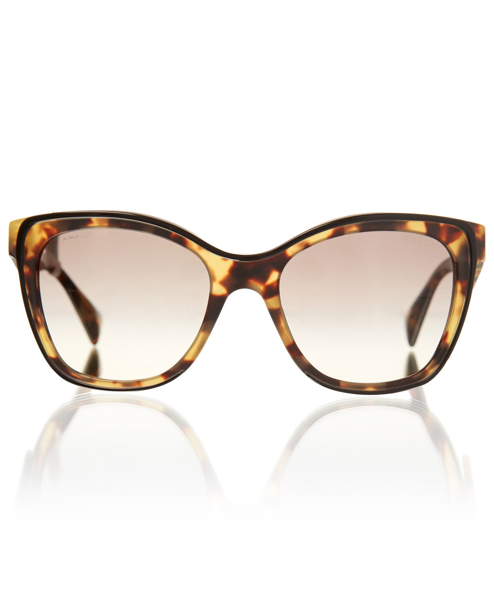 Prada Sunglasses Tortoiseshell Cat Eye