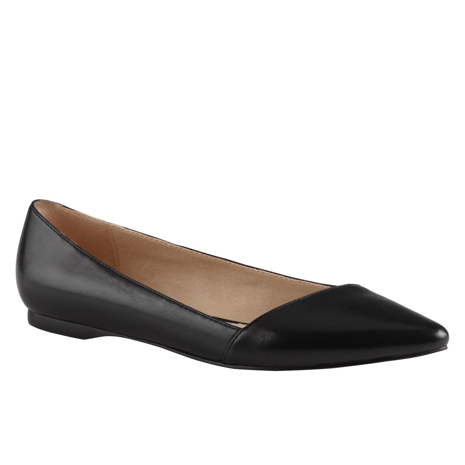 aldo dobrus ballerina shoes in black lyst