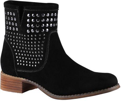 Aldo Bibbs Stud Ankle Boots in Black for Men (Black Suede) - Lyst