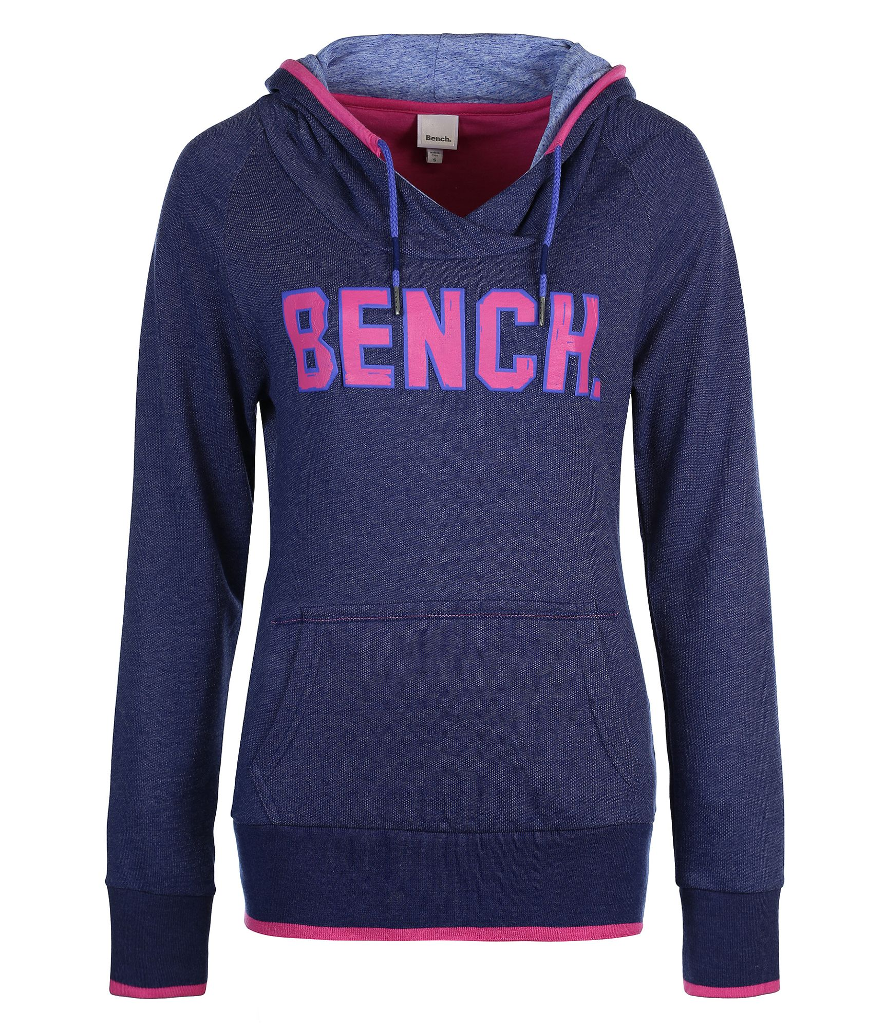 Bench Womens Kirkton Heavy Hoodie Sweat In Blue Dark Blue Lyst