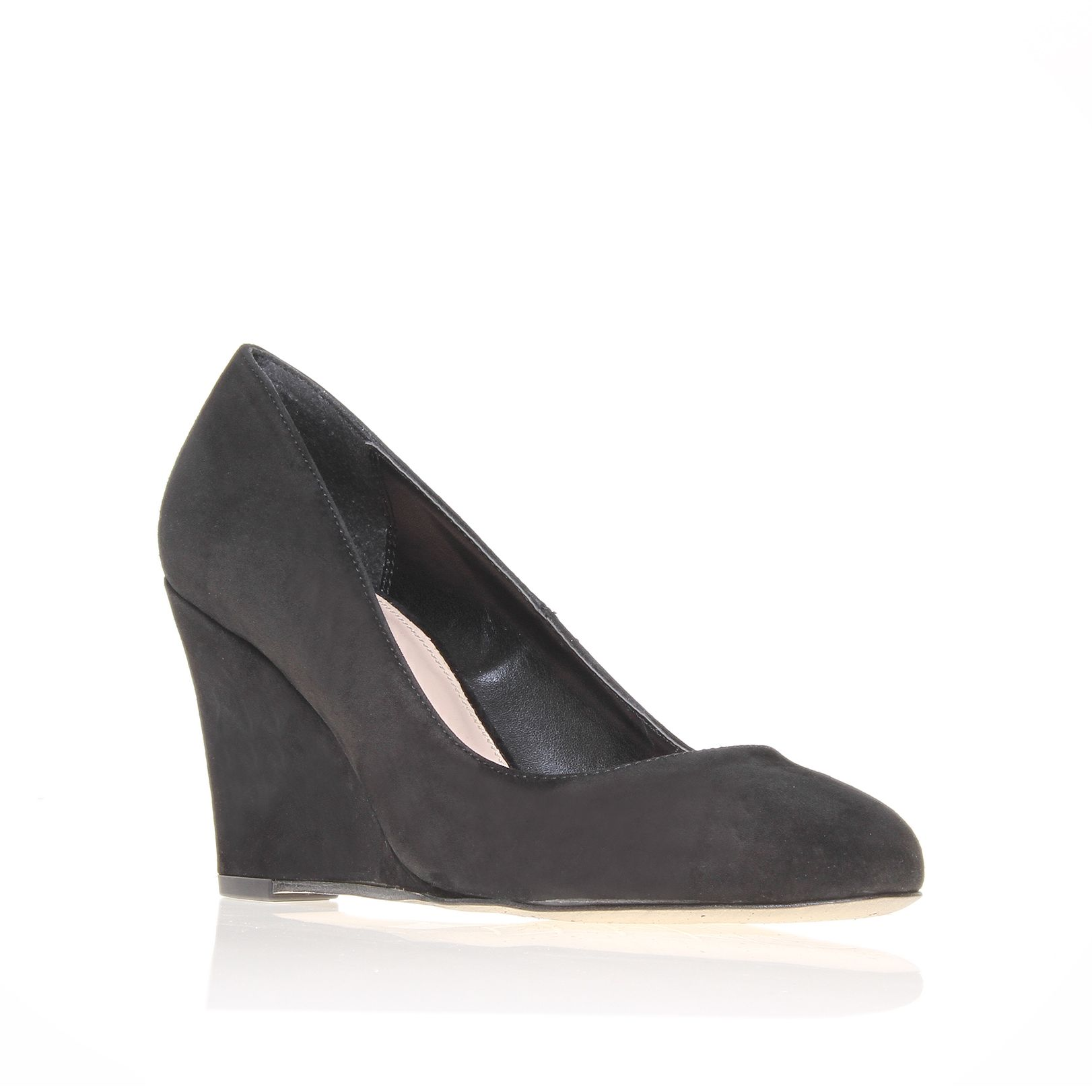 carvela kurt geiger accurate court shoes in gray black