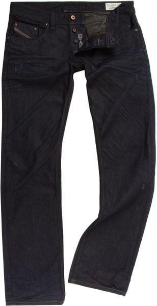 Diesel Larkee 806x Straight Fit Jeans in Blue for Men (Denim)