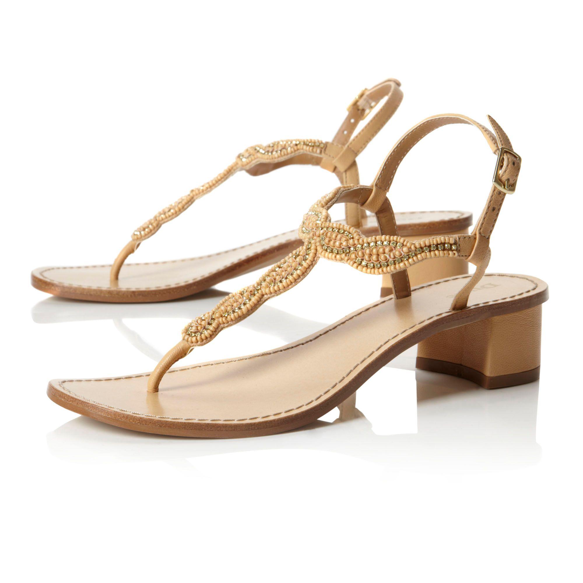 Beige Low Heel Dress Shoes
