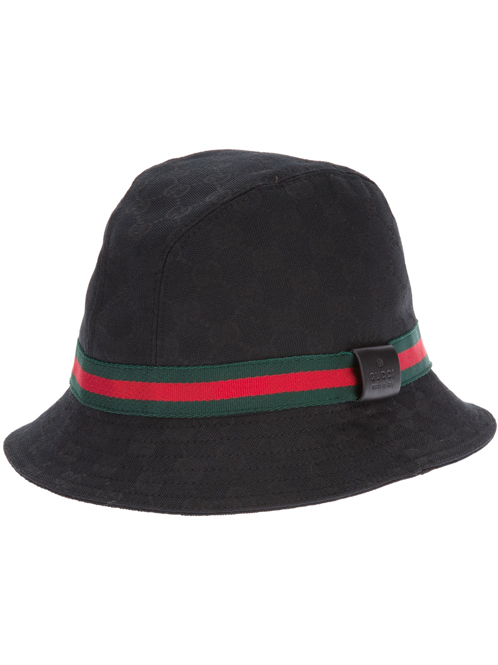 Lyst Gucci Logo Fedora In Black For Men