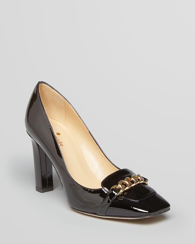 Kate Spade New York Square Toe Pumps Hattie High Heel In